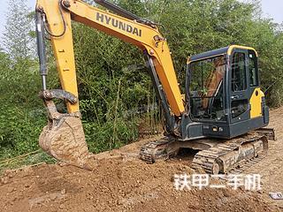 現代HX55挖掘機實拍圖片