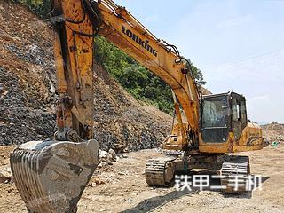 龍工LG6225挖掘機實拍圖片