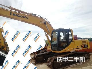 柳工CLG205C挖掘機實拍圖片