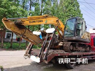 湖北-荆州市二手住友SH130-6挖掘机实拍照片