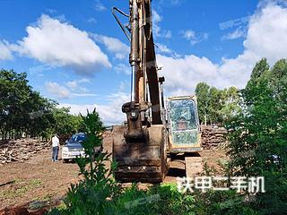 云南-楚雄彝族自治州二手三一重工SY135C挖掘机实拍照片