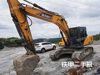 四川-广安市二手三一重工SY215C挖掘机实拍照片
