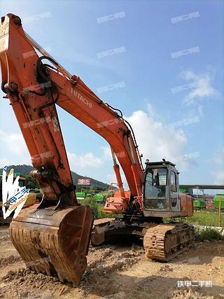 广东-肇庆市二手日立EX350H-5挖掘机实拍照片