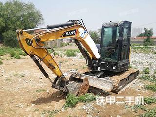 山西-大同市二手三一重工SY55U挖掘机实拍照片