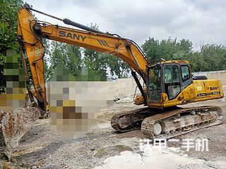 山东-临沂市二手三一重工SY215C挖掘机实拍照片