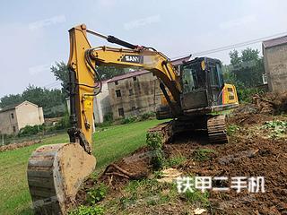 三一重工SY155H挖掘機實拍圖片