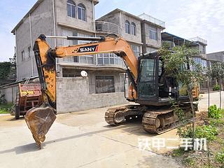 阜阳三一重工SY75C挖掘机实拍图片