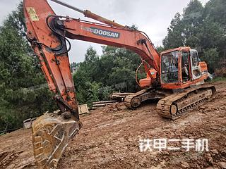 四川-广元市二手斗山DH220LC-9E挖掘机实拍照片