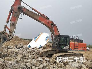 日立ZX490LCH-5A挖掘機實拍圖片
