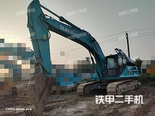 山河智能SWE350ES挖掘機實拍圖片
