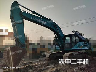 山河智能SWE385ES挖掘機實拍圖片
