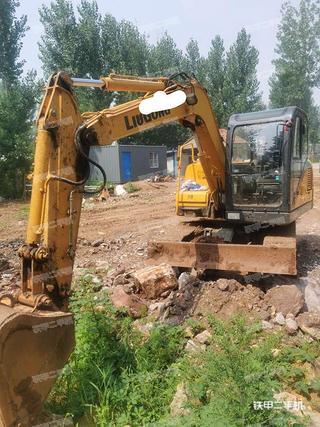 柳工CLG908D挖掘機實拍圖片