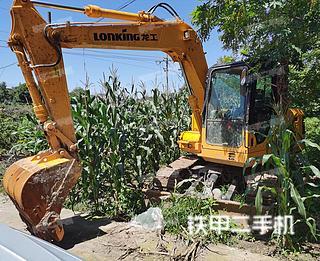 龍工LG6090挖掘機實拍圖片