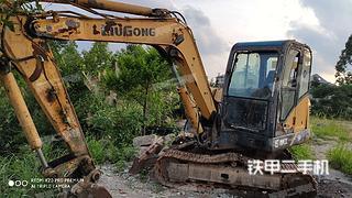 柳工CLG906E挖掘機實拍圖片