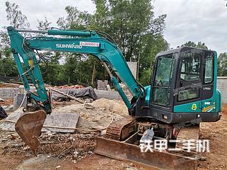 山河智能SWE70E挖掘機實拍圖片