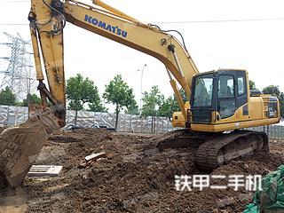 青島小松PC200-8挖掘機實拍圖片