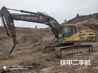 沃爾沃EC380DL挖掘機實拍圖片
