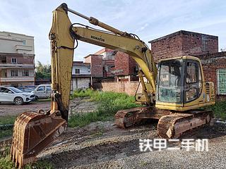 广东-清远市二手小松PC120-6挖掘机实拍照片