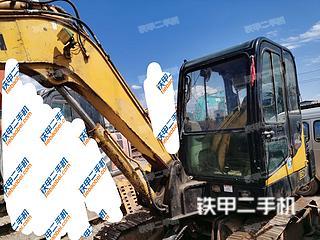 四川-凉山彝族自治州二手现代R60-7挖掘机实拍照片