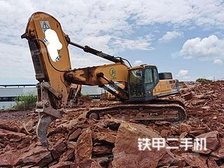 重庆-重庆市二手现代R485LVS挖掘机实拍照片