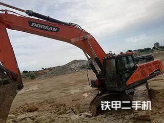 斗山DX420LC-9C挖掘機實拍圖片