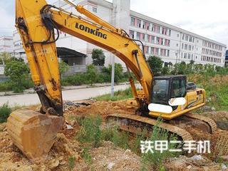 龍工LG6360挖掘機實拍圖片
