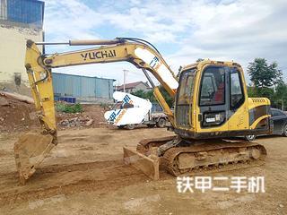 山东-日照市二手玉柴YC85-8挖掘机实拍照片