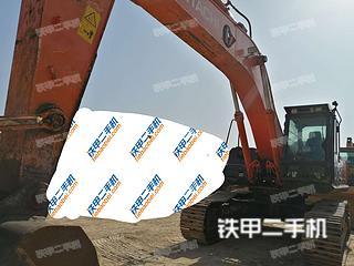 日立ZX400LCH-5A挖掘机实拍图片