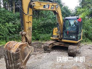 湖南-怀化市二手卡特彼勒307E2小型液压挖掘机实拍照片
