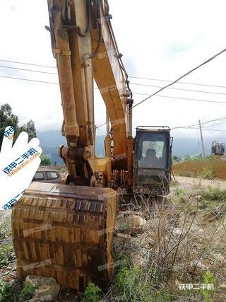 云南-大理白族自治州二手卡特彼勒320BU挖掘机实拍照片