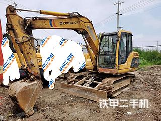 中聯重科ZE85E挖掘機實拍圖片