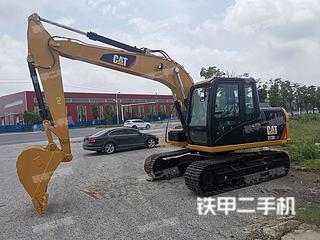 安徽-芜湖市二手卡特彼勒313D2GC小型液压挖掘机实拍照片