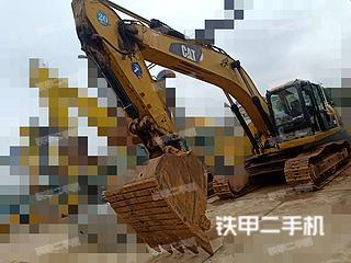 湖南-长沙市二手卡特彼勒329D挖掘机实拍照片