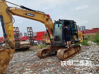 成都三一重工SY135C挖掘机实拍图片