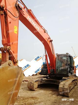 日立ZX260LCH-5A挖掘機實拍圖片