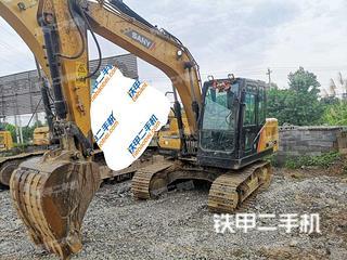 三一重工SY125C挖掘機實拍圖片