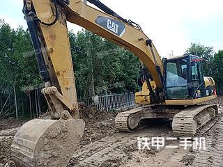卡特彼勒323DL挖掘机实拍图片
