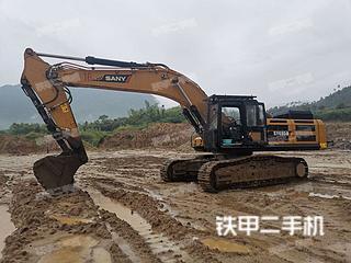 安徽-芜湖市二手三一重工SY485H挖掘机实拍照片