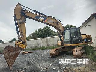 湖北-荆门市二手卡特彼勒323D液压挖掘机实拍照片