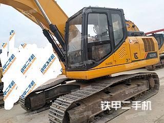 柳工CLG922E挖掘机实拍图片