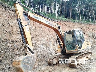湖南-常德市二手三一重工SY135C挖掘机实拍照片