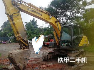 四川-泸州市二手住友SH130-6挖掘机实拍照片