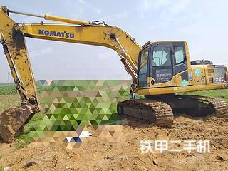 大连小松PC200-8挖掘机实拍图片