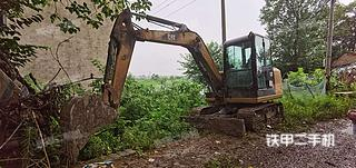 湖北-荆州市二手卡特彼勒306E2小型液压挖掘机实拍照片