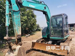 河北-保定市二手神钢SK70挖掘机实拍照片