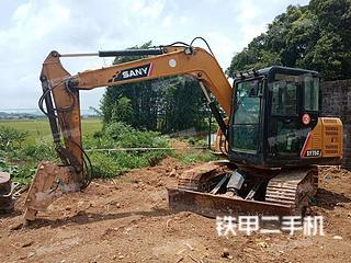 广西-南宁市二手三一重工SY75C挖掘机实拍照片