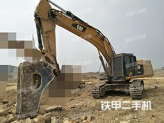 山东-临沂市二手卡特彼勒349D2液压挖掘机实拍照片