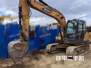 云南-昆明市二手三一重工SY135C挖掘机实拍照片