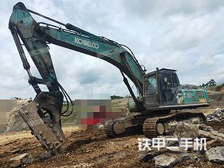 神鋼SK380D-8挖掘機實拍圖片