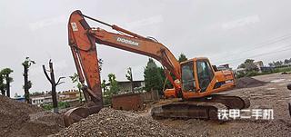 湖北-荆州市二手斗山DH220LC-9E挖掘机实拍照片